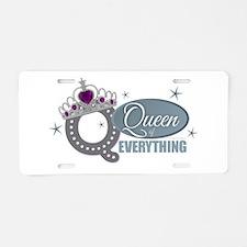 Cute Diana Aluminum License Plate