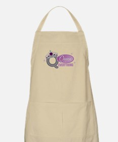 Queen Everything Orchid Apron