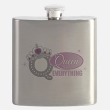 Queen Everything Orchid Flask