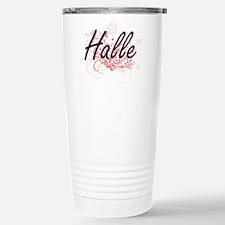 Halle Artistic Name Des Travel Mug