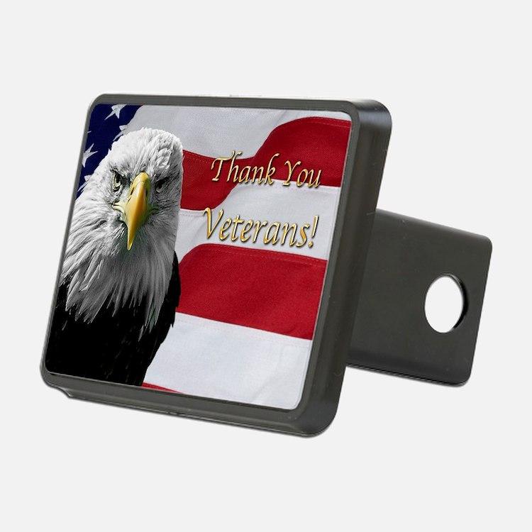 Cute American eagle Hitch Cover