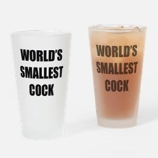 World's Smallest Cock Drinking Glass