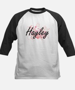 Hayley Artistic Name Design with F Baseball Jersey