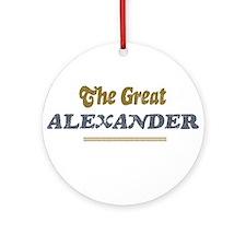 Alexander Ornament (Round)