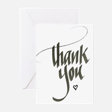 Funny Thank you Greeting Cards (Pk of 20)
