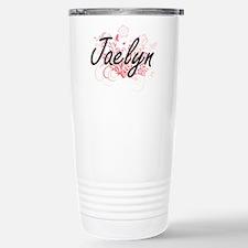 Jaelyn Artistic Name De Travel Mug