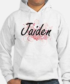 Jaiden Artistic Name Design with Hoodie