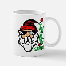 Thug Santa Claus Life Mug