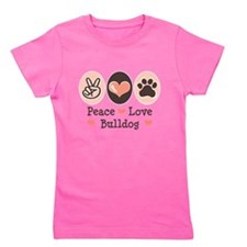 Unique Bulldog Girl's Tee