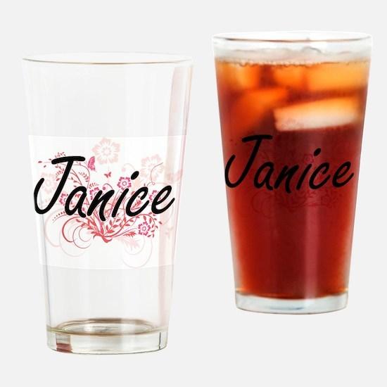 Funny Janice Drinking Glass