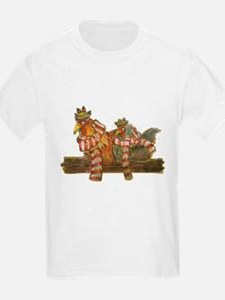 Winter Chickens T-Shirt