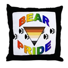 Bear Pride Throw Pillow