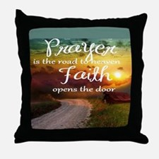 Cute Boondock saints prayer Throw Pillow