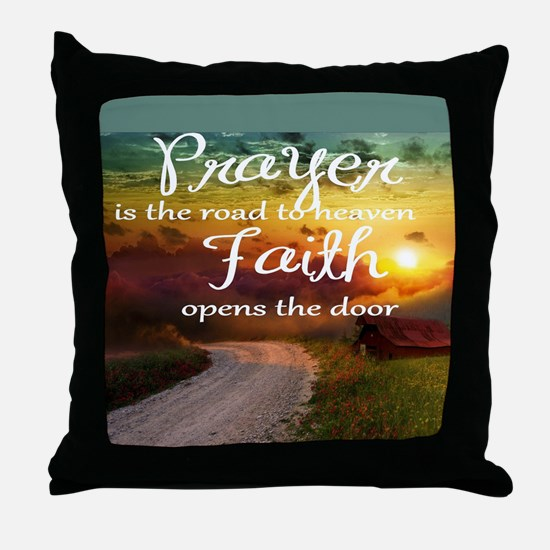 Cute Road Throw Pillow