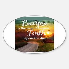 Cute Heaven Sticker (Oval)