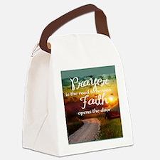 Cute Prayer Canvas Lunch Bag