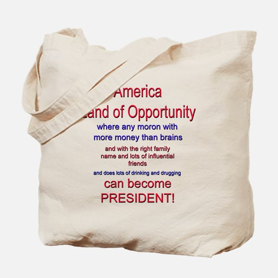 Land of Opportunity Tote Bag