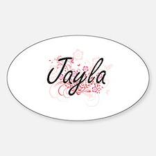 Cute Jayla Sticker (Oval)