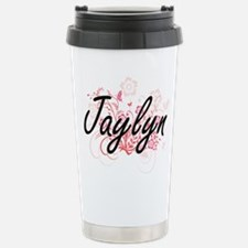 Jaylyn Artistic Name De Travel Mug