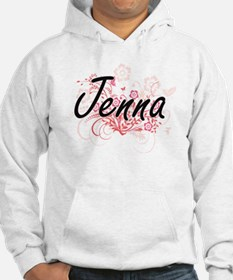 Jenna Artistic Name Design with Hoodie