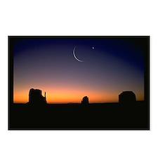 Ramadan Moon & Venus Postcards (Package of 8)