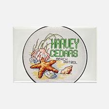 Harvey Cedars CrossStitch Magnets