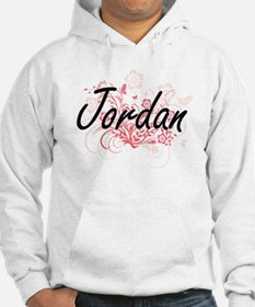 Jordan Artistic Name Design with Hoodie