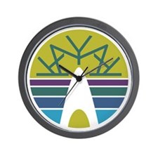 Kayak Emblem Wall Clock