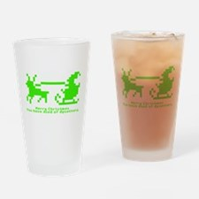christmas trail (gn) Drinking Glass