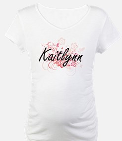 Kaitlynn Artistic Name Design wi Shirt