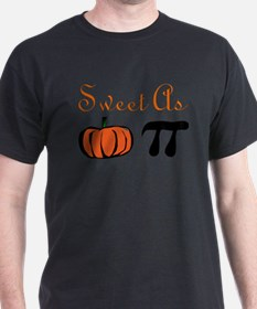 Funny Funny pumpkin pie design T-Shirt