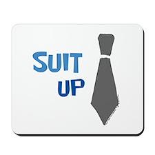 Suit Up Mousepad