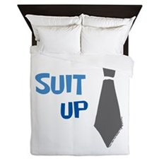 Suit Up Queen Duvet