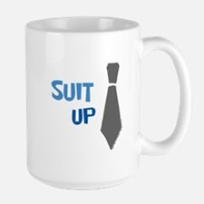 Suit Up Mugs