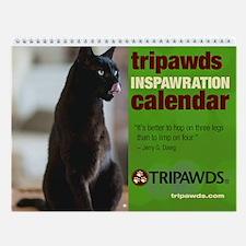 Tripawds Wall Calendar #14 - New For 2016