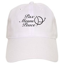 Wagging PaxMeansPeace Baseball Cap