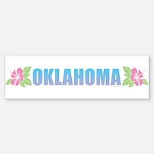 Oklahoma Design Bumper Bumper Bumper Sticker