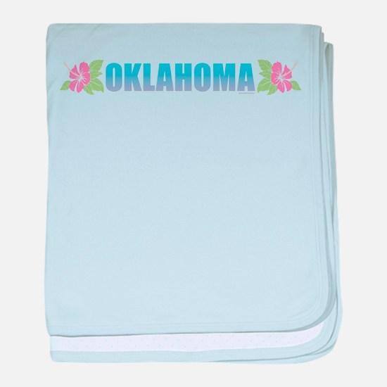 Oklahoma Design baby blanket