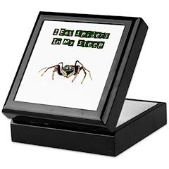 I Eat Spiders in My Sleep Keepsake Box