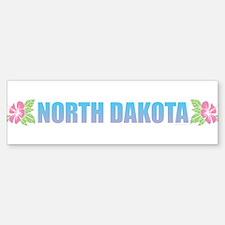 North Dakota Bumper Bumper Bumper Sticker
