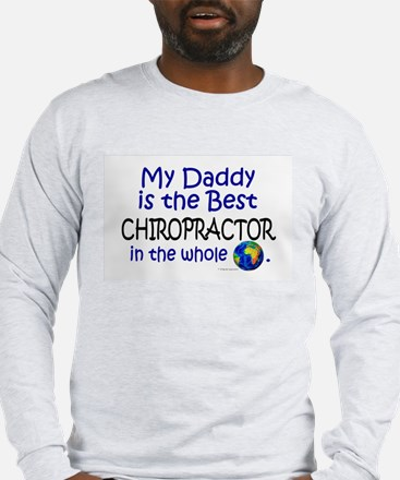 Best Chiropractor In The World (Daddy) Long Sleeve