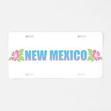 New Mexico Aluminum License Plate
