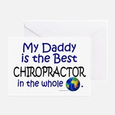 Best Chiropractor In The World (Daddy) Greeting Ca