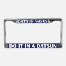 Datsun License Plate Frame