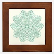 Unique Mandala Framed Tile