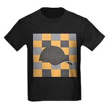 Golden Black Hat T-Shirt