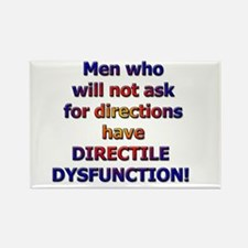 Directile Dysfunction Rectangle Magnet