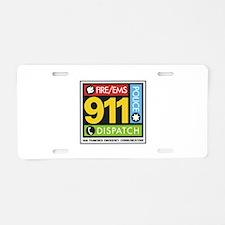 911 SAN FRANCISCO Aluminum License Plate