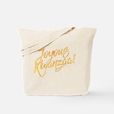 Joyous Kwanzaa Tote Bag