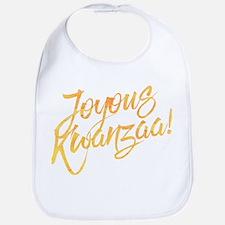 Joyous Kwanzaa Bib